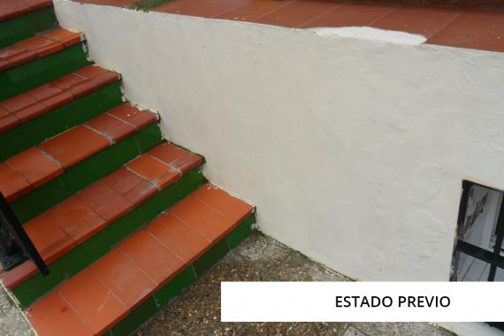 Antes reforma escalera metálica   Arquitectura   Estudio Jerez