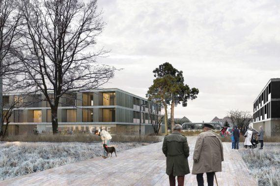 Concurso para viviendas en Halle   Estudio Jerez