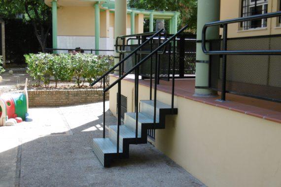 Escalera metálica   Arquitectura   Estudio Jerez