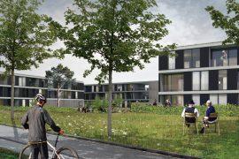 Concurso para viviendas y equipamientos en Halle