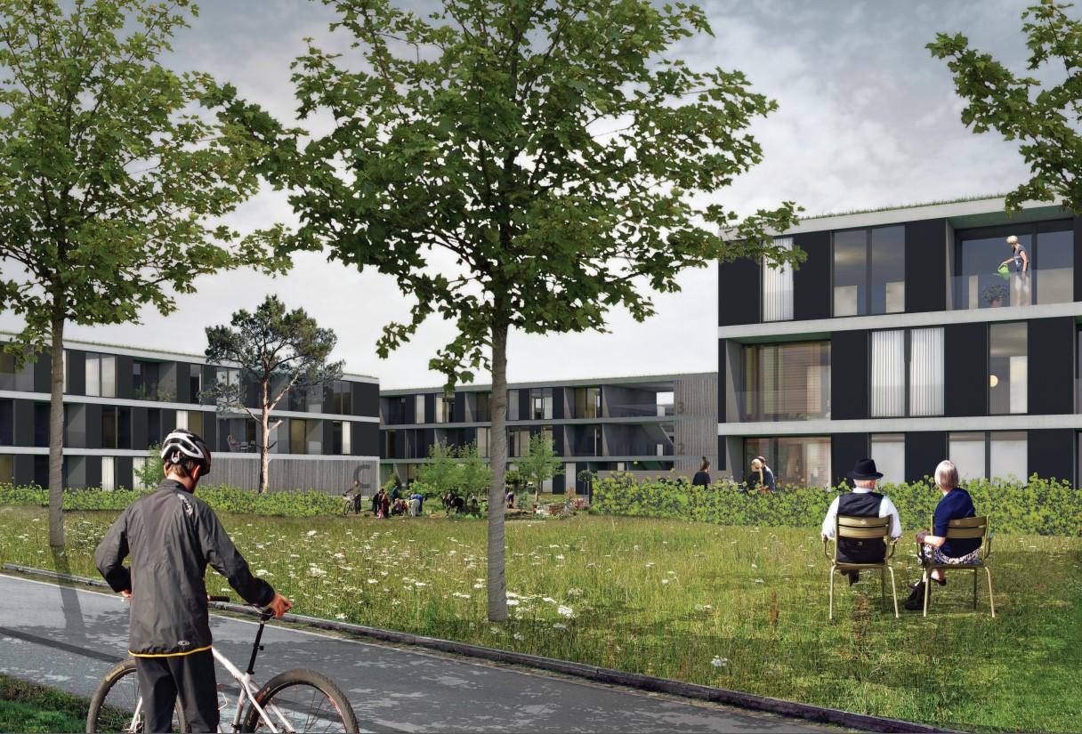 Concurso para viviendas en Halle | Estudio Jerez