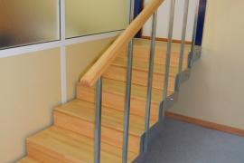 Reforma interior de escalera